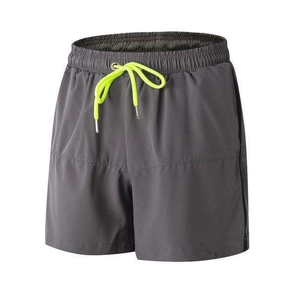Loose Drawstring Quick-Dry Men's Fitness Shorts