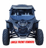MudBusters Fender Extensions for X3 BRP fenders