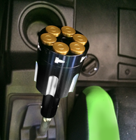 Six Shooter Revolver Shifter Knob