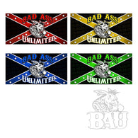 Bad Ass Unlimited Whip Flags