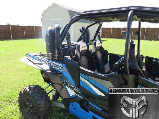 SYA WARRIOR RISER SNORKEL KIT FOR POLARIS RZR XP 1000 2 & 4 SEATERS 2014 - 2018