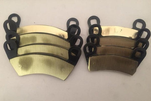 2012-2017 RZR 900 XP FULL SET STANDARD BRASS BRAKE PADS EXCEPT TRAIL MODELS