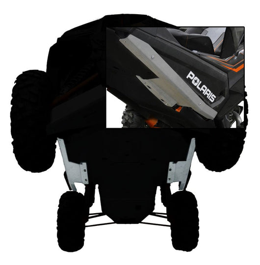 POLARIS RZR XP 1000 2-PIECE ALUMINUM ROCK SLIDERS
