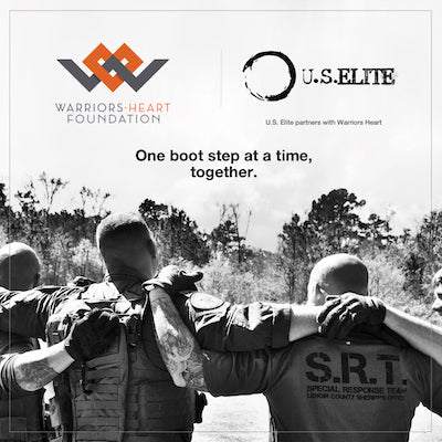 One boot, one step at a time, together - U.S. Elite and Warriors Heart Foundation