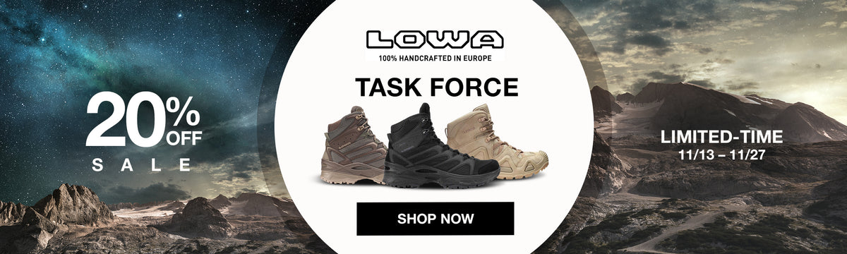 Get 20% off Task Force at US Elite Gear