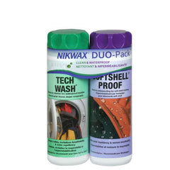 Nikwax Softshell Clean/Waterproof DUO-Pack