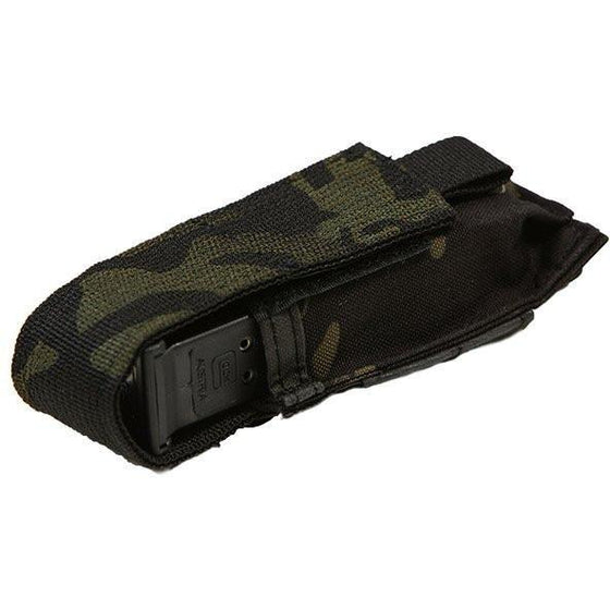 Velocity Systems Flapped Single Pistol Pouch - MultiCam Black