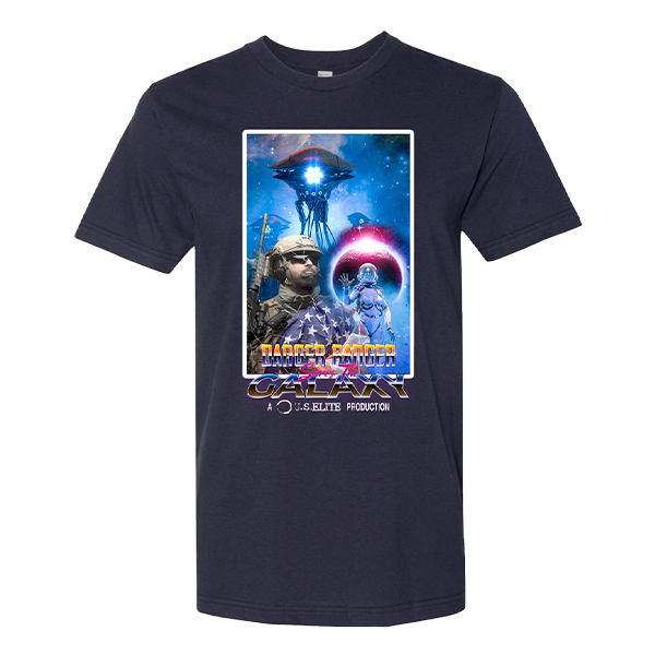 Black Triangle Danger Ranger Limited Edition Movie Tee (U.S. Elite Exclusive)