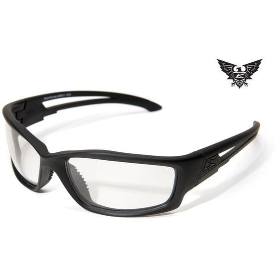 Edge Tactical Eyewear Blade Runner - Matte Black Frame / Clear Lens