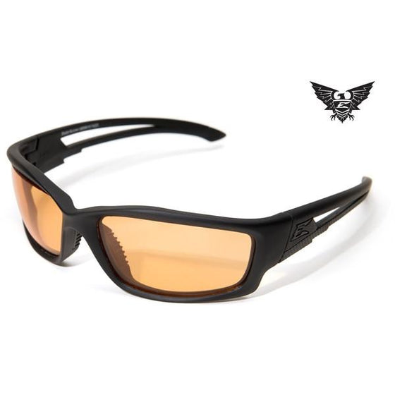 Edge Tactical Eyewear Blade Runner - Matte Black Frame / Tigers Eye Lens