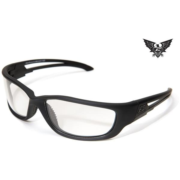 Edge Tactical Eyewear Blade Runner XL - Matte Black Frame / Clear Lens