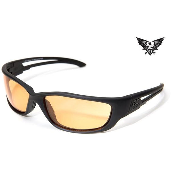 Edge Tactical Eyewear Blade Runner XL - Matte Black Frame / Tigers Eye Lens
