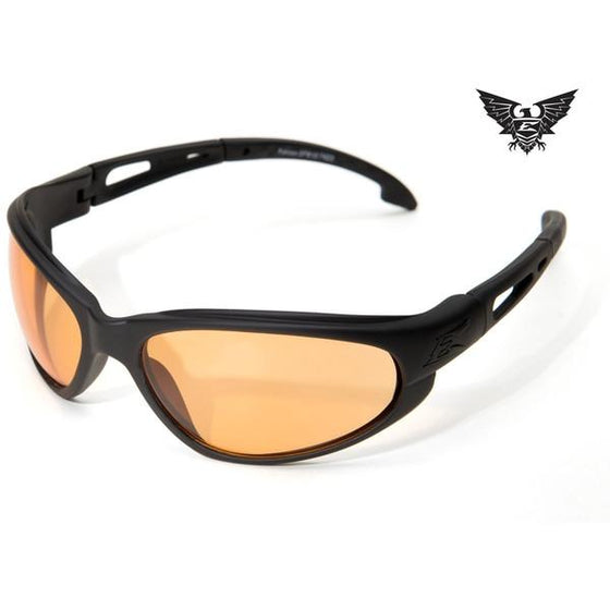 Edge Tactical Eyewear Falcon - Matte Black Frame / Tigers Eye Lens