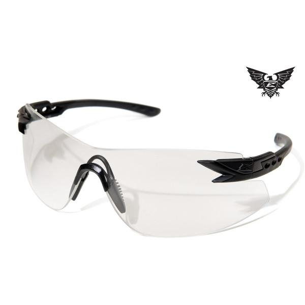 Edge Tactical Eyewear Notch - Matte Black Frame / Clear Lens