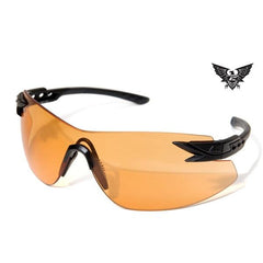 Edge Tactical Eyewear Notch - Matte Black Frame / Tigers Eye Lens