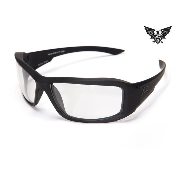 Edge Tactical Eyewear Hamel Thin Temple - Matte Black Frame / Clear Lens