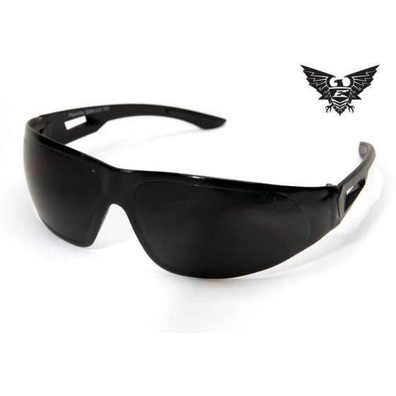 Edge Tactical Eyewear Dragon Fire - Matte Black Frame / G-15 Lens