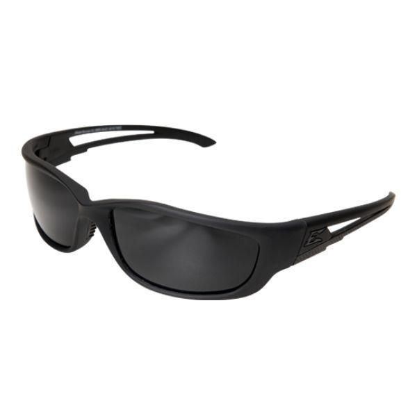 Edge Tactical Eyewear Blade Runner XL - Soft-Touch Matte Black Frame with Gasket / G-15 Vapor Shield Lens