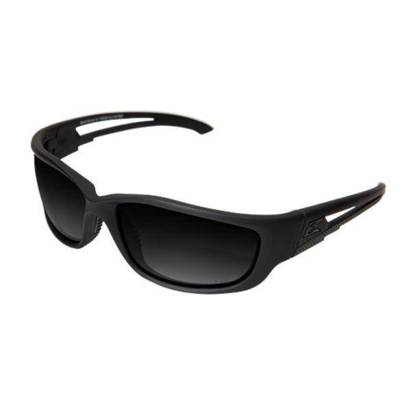 Edge Tactical Eyewear Blade Runner XL - Soft-Touch Matte Black Frame with Gasket / Polarized Gradient Smoke Lens