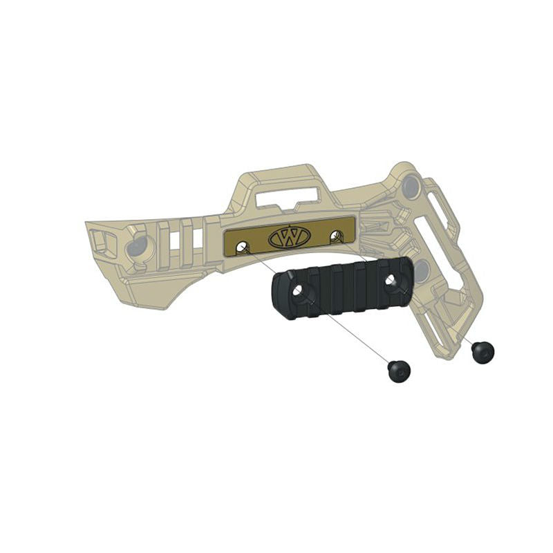 Team Wendy MAGPUL MOE 5-Slot Mounting Kit