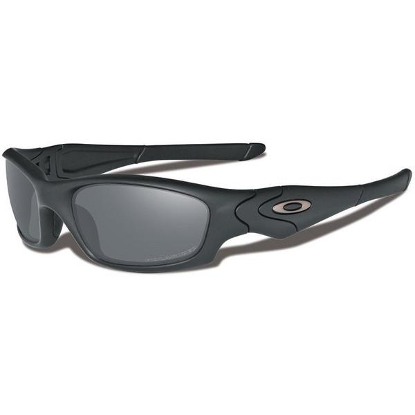 Oakley SI Straight Jacket Sunglasses - Matte Black Frame