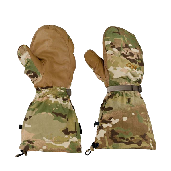 Outdoor Research Firebrand Mitts, Multicam