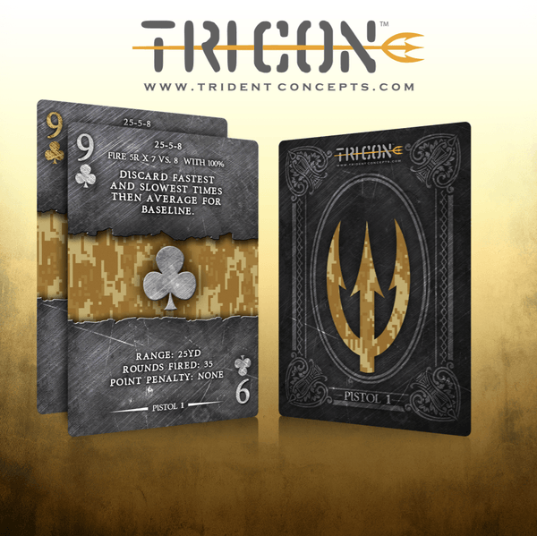 Tricon TACOST Rifle 1 Training Card Set