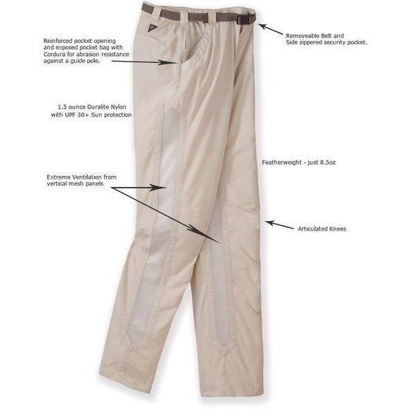 RailRiders Men's Bone Flats Pants