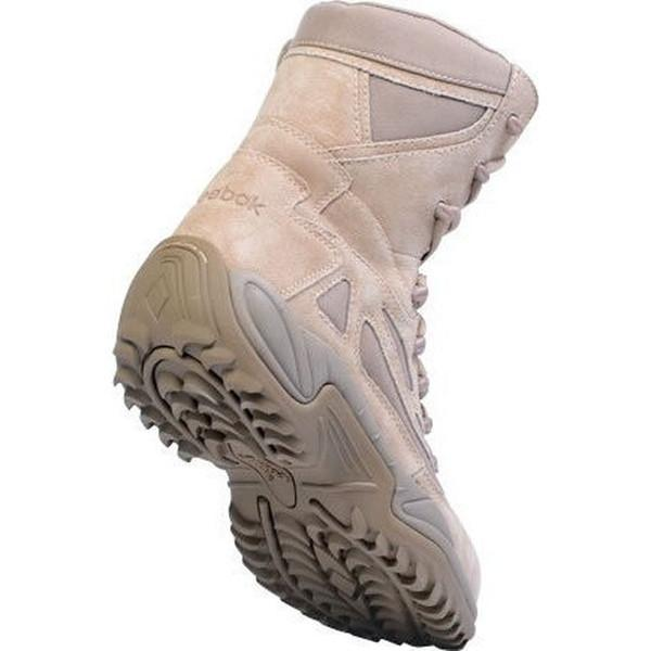"Reebok RB8894 Men's Rapid Response RB Stealth 8"" Boot with Side Zipper - Desert Tan"