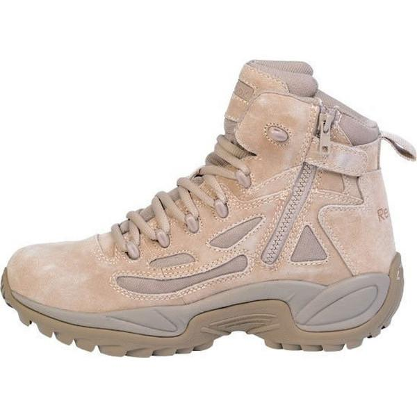 "Reebok RB8694 Men's Rapid Response RB Stealth 6"" Boot with Side Zipper - Desert Tan"