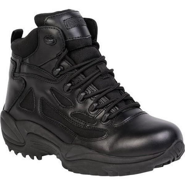 "Reebok RB8688 Men's Rapid Response RB Stealth 6"" Waterproof Boot with Side Zipper - Black"