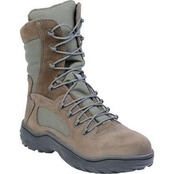 "Reebok CM989 Women's Fusion Max 8"" Tactical Boot with Side Zipper - Sage Green"