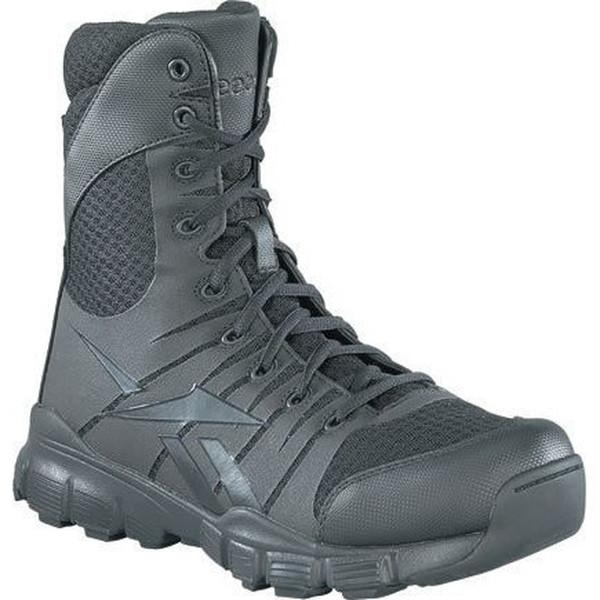 "Reebok RB8720 Dauntless 8"" Soft Toe Tactical Seamless Boot - Black"