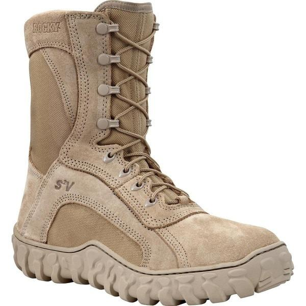 "Rocky Men's 8"" S2V GORE-TEX Insulated Tactical Boots - Desert Tan"