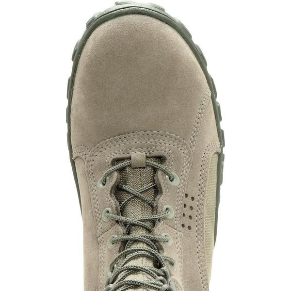 "Rocky Men's 8"" S2V Vented Military Duty Boot - Sage Green"