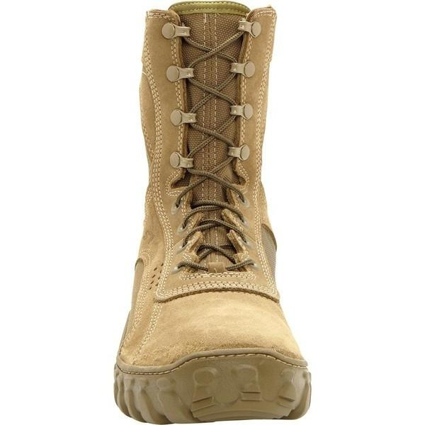 "Rocky Men's 8"" S2V Vented Military Duty Boot - Coyote Brown"