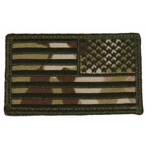 215 Gear Reverse American Flag Patch