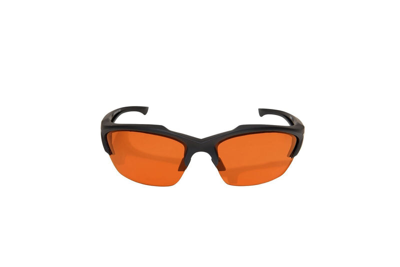 Edge Tactical Eyewear Acid Gambit 2 Lens Kit - Soft-Touch Matte Black Frame / Clear Vapor Shield, Tiger's Eye Vapor Shield Lenses