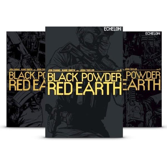 Black Powder Red Earth - Special Edition (8 Book Series Signed by the Author and Artist)