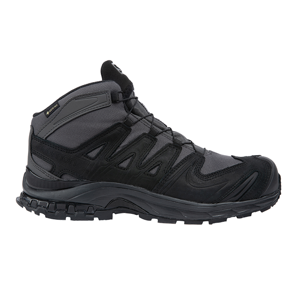 U.S. Elite's exclusive Salomon FORCES Sua Sponte Mark III Gore-Tex Boot in Wolf Gray shown in a front angle