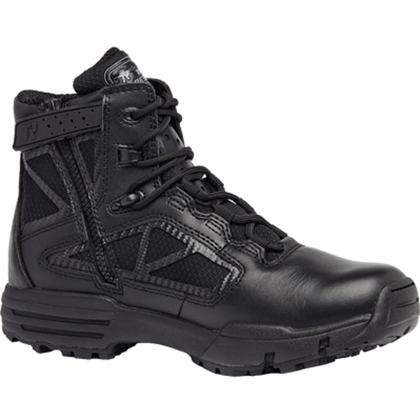 "Tactical Research Chrome TR916Z 6"" Hot Weather Side Zip Boot"