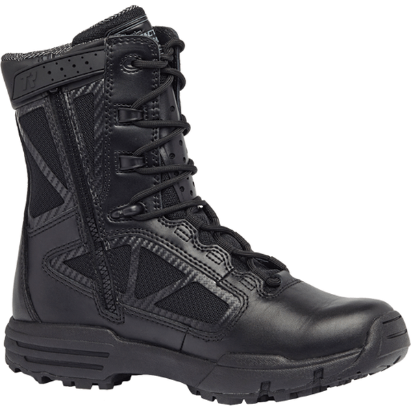Tactical Research Chrome TR998Z WP: Waterproof Side Zip Boot