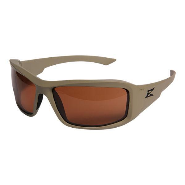 Edge Tactical Eyewear Hamel Sand Thin Temple - Matte Sand Frame / Polarized Copper Lens