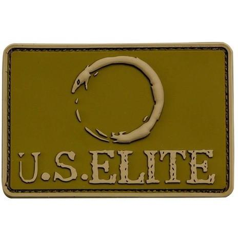 "U.S. Elite 2"" x 3"" Rectangular PVC Logo Patch"