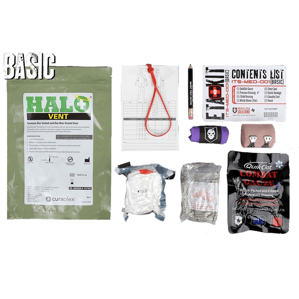ITS Tactical ETA Trauma Kit-Basic (Tallboy)
