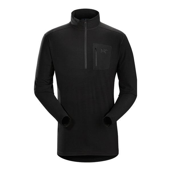 Arc'teryx LEAF Cold WX Zip Neck AR (Wool)
