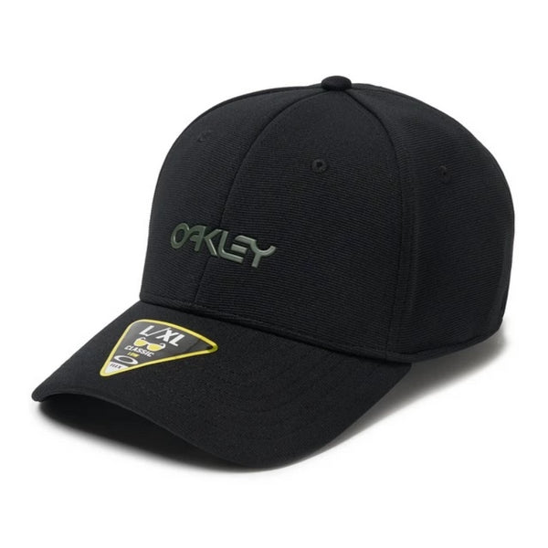 Oakley 6 Panel Stretch Mettalic Cap (Discontinued Model)