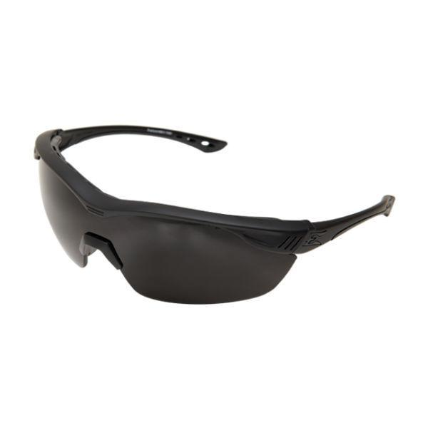 Edge Tactical Eyewear Overlord - Soft-Touch Matte Black Frame / Polarized Smoke Lens