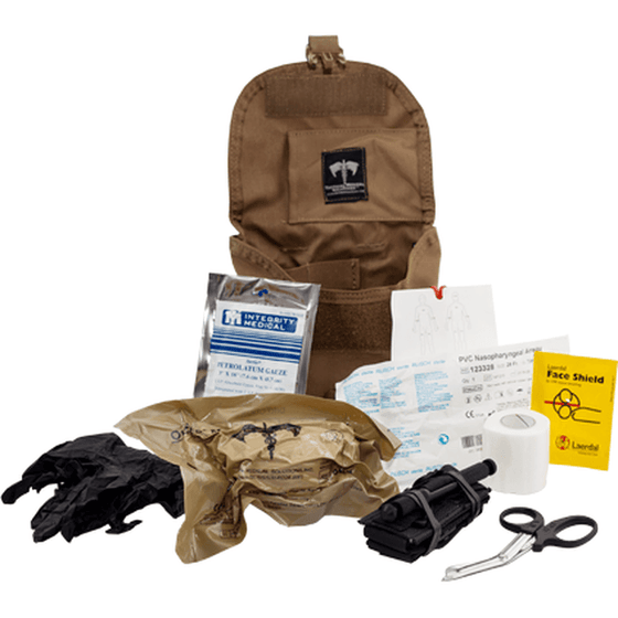 Tac Med Solutions Ballistic Response Pack - Stocked Kit
