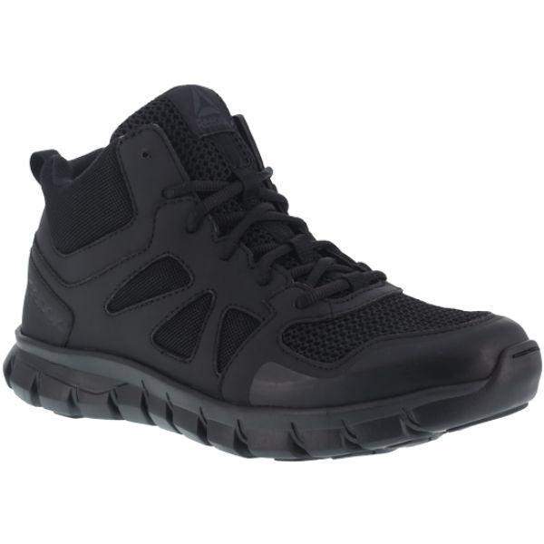 Reebok RB805 Women's Sublite Cushion Soft Toe Tactical Mid - Black